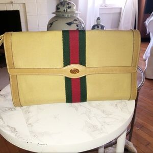 RARE! Gucci Parfums vintage clutch bag